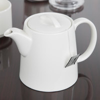 Chef & Sommelier S0119 Embassy 13.5 oz. White Stackable Teapot by Arc Cardinal - 8/Case