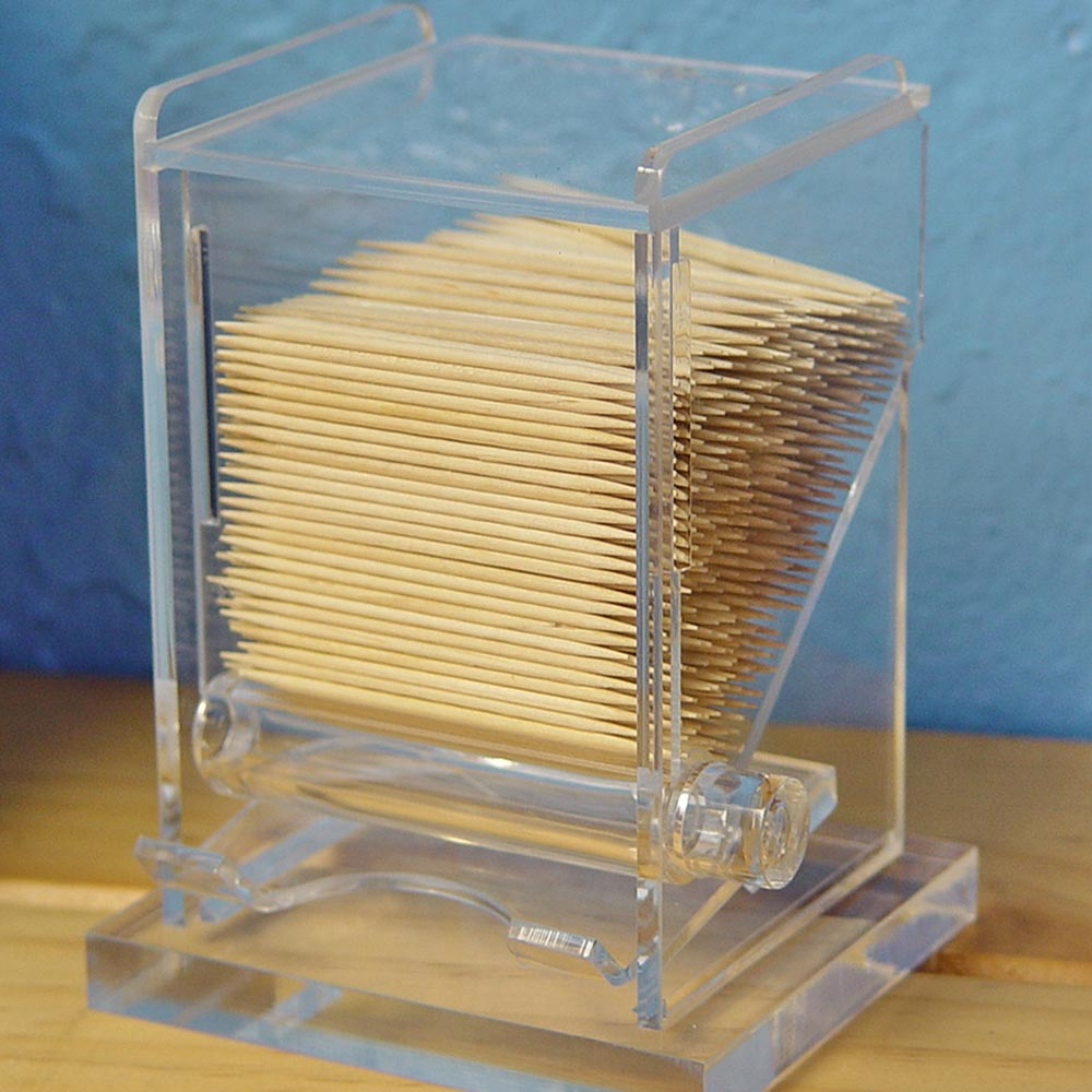 Acrylic toothpick dispenser - Tooth pick dispenser ...
