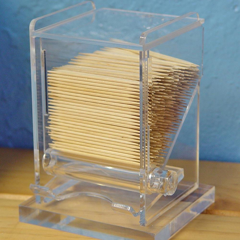 Acrylic Toothpick Dispenser