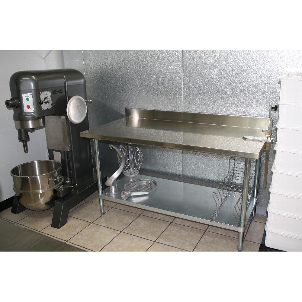 regency 18 gauge 30 x 48 304 stainless steel commercial