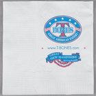 Choice 10 inch x 10 inch White 2-Ply Customizable Beverage / Cocktail Napkins - 3000/Case