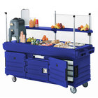 Cambro 47280 Bottom Panel Sneeze Guard for all CamKiosk Carts