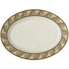 GET OP-621-MO Mosaic Oval Platter - 12/Pack
