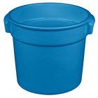 Tablecraft CW1300SBL 7 Qt. Sky Blue Cast Aluminum Bain Marie Soup Bowl