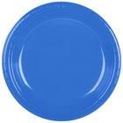 Dart Solo PS15B-0099 10 1/4 inch Blue Plastic Plate - 500/Case