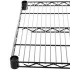 Regency 18 inch x 48 inch NSF Black Epoxy Wire Shelf