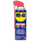 WD-40 490057 12 oz. Spray Lubricant with Smart Straw - 12/Case