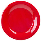GET WP-9-RSP Red Sensation 9 inch Wide Rim Plate - 24 / Case