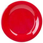 GET WP-9-RSP Red Sensation 9 inch Wide Rim Plate - 24/Case