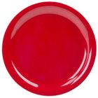 GET NP-9-RSP Red Sensation 9 inch Narrow Rim Plate - 24/Case