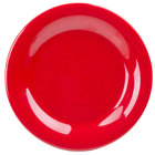GET WP-6-RSP Red Sensation 6 1/2 inch Wide Rim Plate - 48 / Case