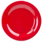 GET WP-6-RSP Red Sensation 6 1/2 inch Wide Rim Plate   - 48/Case