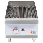 """Cooking Performance Group CBR15 15"""" Gas Countertop Radiant Charbroiler - 40,000 BTU"""