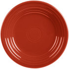 Homer Laughlin 465326 Fiesta Scarlet 9 inch China Luncheon Plate - 12/Case