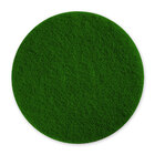 Pacific 973016 6 1/2 inch Green Scrubbing Floor Pad - 10 / Case