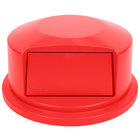 Rubbermaid FG264788RED BRUTE Red Dome Top for FG264300 Containers 44 Gallon