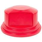Rubbermaid FG265788 Brute Red Dome Top for FG265500 Containers 55 Gallon (FG265788RED)