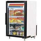 True GDM-7F-LD White Countertop Display Freezer with Swing Door - 7 cu. ft.