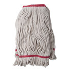 16 oz. Loop End Natural Cotton Mop Head with 1 1/4