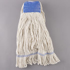 Continental A02503 J.W. Atomic Loop™ 32 oz. Blend Loop End Natural Mop Head with 5 inch Band