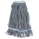 Continental A11212 24 oz. Blue Loop End Natural Cotton Mop Head with 1 1/4