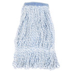 Continental Wilen A11411 16 oz. Blue and White Blend Loop End Finish Mop Head with 1 1/4