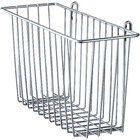 Metro H210C Chrome Storage Basket for Wire Shelving 17 3/8 inch x 7 1/2 inch x 5 inch