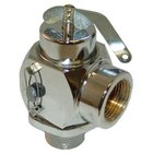 All Points 56-1328 50 PSI Chrome Steam Safety Relief Valve - 3/4 inch NPT, 625 lb./Hour