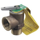 All Points 56-1353 15 PSI Bronze Steam Safety Relief Valve - 3/4 inch NPT, 300 lb./Hour