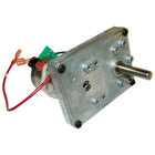 All Points 68-1115 Conveyor Oven Gear Motor; 18V DC; 3/8 inch x 1 1/2 inch Shaft with Keyway