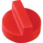 All Points 22-1243 2 inch Red Broiler / Grill / Range / Oven Knob
