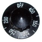 All Points 22-1339 2 1/4 inch Fryer / Grill / Griddle Thermostat Dial (Off, 200-400)