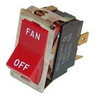 All Points 42-1308 Fan Switch; 7/8 inch x 1 1/2 inch; 125/277V