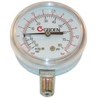 All Points 62-1099 Vacuum / Pressure Gauge; -30 - +80 PSI; 1/4 inch MPT Bottom Mount