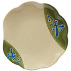 GET 139-TD Japanese Traditional 8 inch Scallop Plate - 12/Case
