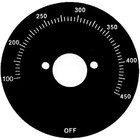 All Points 22-1523 Black Grill Dial Plate (Off, 100-450)