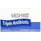 Medique 22312 Medi-First .5 g Antibiotic Ointment Packet - 10/Box
