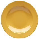 Elite Global Solutions D10PB Rio Yellow 18 oz. Round Melamine Pasta / Soup Bowl