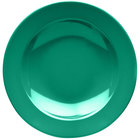 Elite Global Solutions D10PB Rio Autumn Green 18 oz. Round Melamine Pasta / Soup Bowl