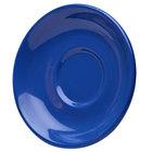 Elite Global Solutions DS Rio Winter Purple 5 5/8 inch Round Melamine Coffee Saucer - 6/Case