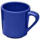 Elite Global Solutions DC14-WP Rio Winter Purple 14 oz. Melamine Mug - 6/Case