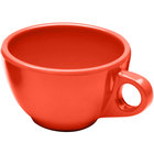 Elite Global Solutions DMC Rio Spring Coral 8 oz. Melamine Coffee Cup