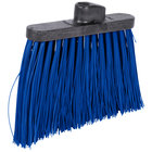 Carlisle 3686814 Duo-Sweep 12 inch Heavy Duty Angled Broom Head with Blue Unflagged Bristles