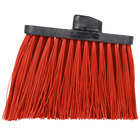 Carlisle 3686805 Duo-Sweep Heavy Duty Angled Broom Head with Unflagged Red Bristles