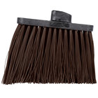 Carlisle 3686801 Duo-Sweep Heavy Duty Angled Broom Head with Unflagged Brown Bristles