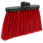 Carlisle 3686705 Duo-Sweep 12 inch Medium Duty Angled Broom Head with Red Flagged Bristles