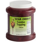 I. Rice 1/2 Gallon Cherry Dessert / Sundae Topping - 6/Case