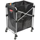 Rubbermaid 1881749 Collapsible 4 Bushel X-Frame Folding Laundry Cart