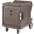 Cambro CMBHC1826LSP194 Camtherm® Granite Sand Low Profile Electric Hot / Cold Food Holding Cabinet in Fahrenheit with Security Package - 110V