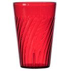 GET 2220-1-R 20 oz. SAN Red Plastic Tahiti Tumbler 72 / Case